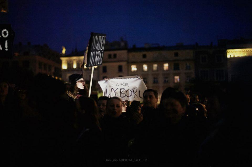 Ogólnopolski Strajk Kobiet #czarnyponiedziałek #czarnyprotest