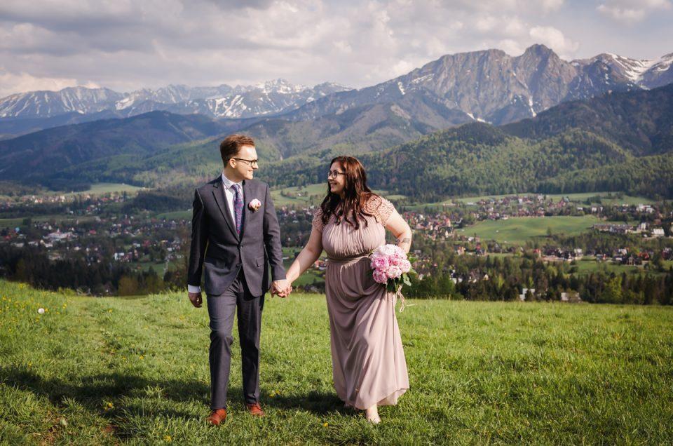 Zabezpieczony: Ślub cywilny w Zakopanem – A+P